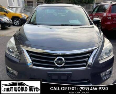 2013 Nissan Altima for sale at First World Auto in Jamaica NY