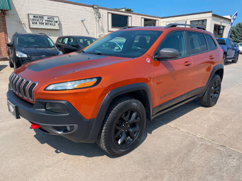 2016 Jeep Cherokee for sale at Mulder Auto Tire and Lube in Orange City IA