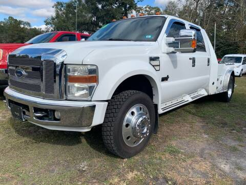 2008 Ford F-450 Super Duty for sale at Gator Truck Center of Ocala in Ocala FL