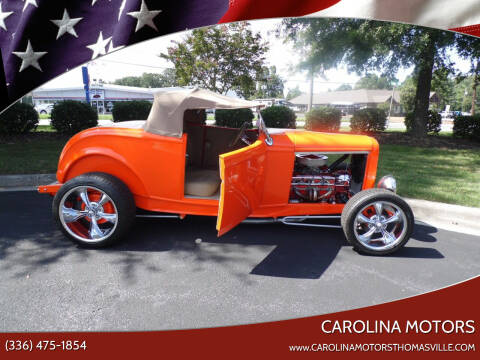 1932 Ford Tudor for sale at CAROLINA MOTORS in Thomasville NC