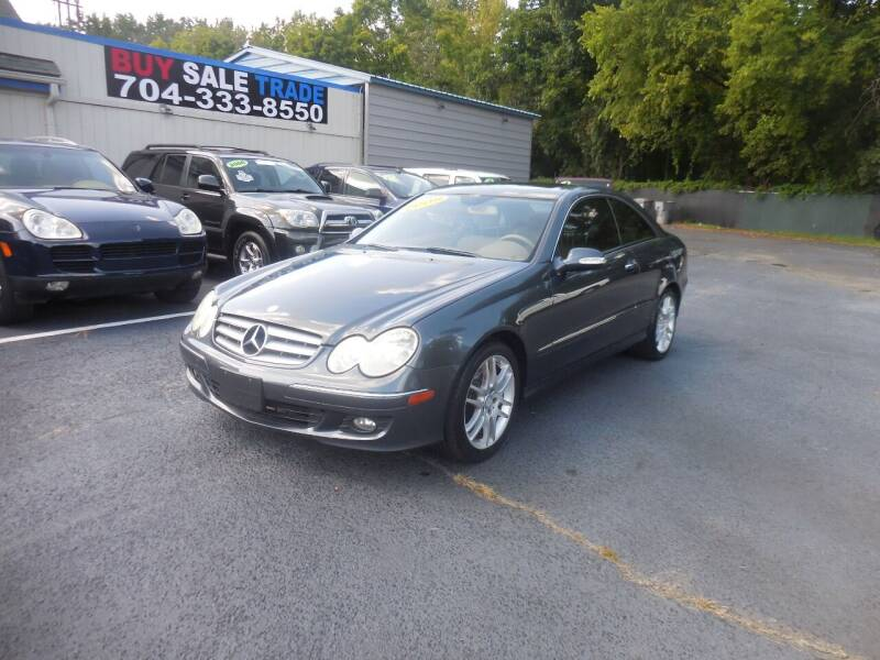 2009 Mercedes-Benz CLK for sale at Uptown Auto Sales in Charlotte NC