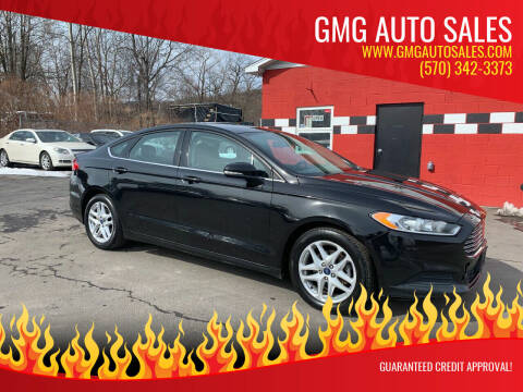 2014 Ford Fusion for sale at GMG AUTO SALES in Scranton PA