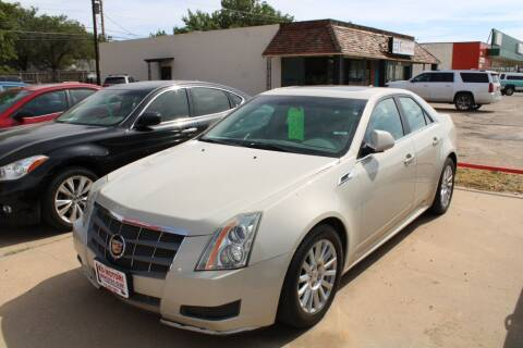 2011 Cadillac CTS for sale at KD Motors in Lubbock TX
