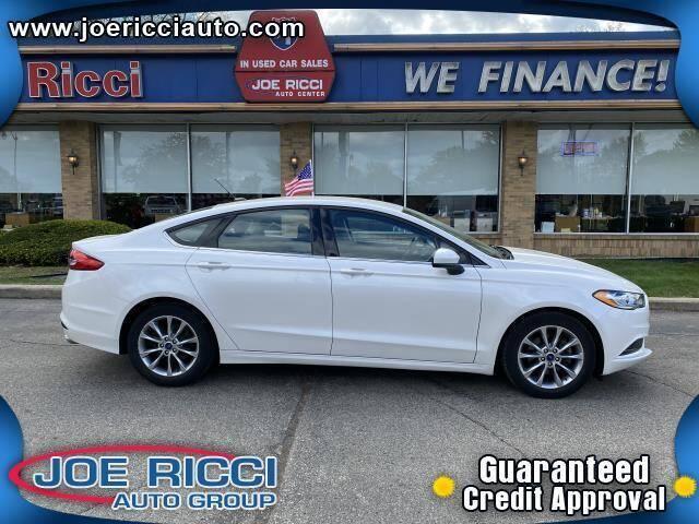 2017 Ford Fusion for sale at JOE RICCI AUTOMOTIVE in Clinton Township MI