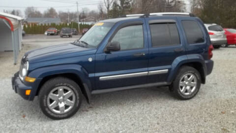 2005 Jeep Liberty for sale at MIKE'S CYCLE & AUTO - Mikes Cycle and Auto (Liberty) in Liberty IN