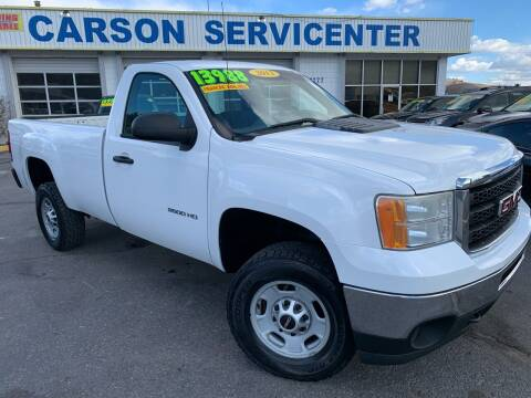 2013 GMC Sierra 2500HD for sale at Carson Servicenter in Carson City NV