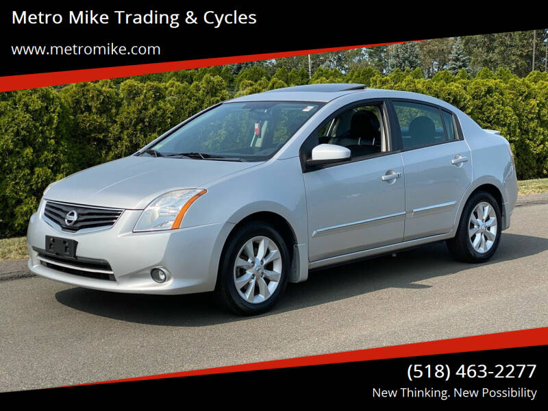 2012 Nissan Sentra for sale at Metro Mike Trading & Cycles in Albany NY