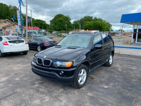 2003 BMW X5 for sale at Memphis Auto Sales in Memphis TN