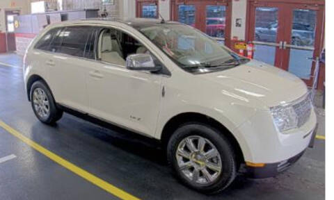 2008 Lincoln MKX for sale at Kansas Car Finder in Valley Falls KS