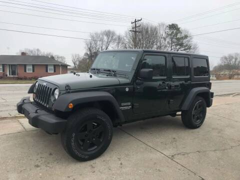 2011 Jeep Wrangler Unlimited for sale at E Motors LLC in Anderson SC