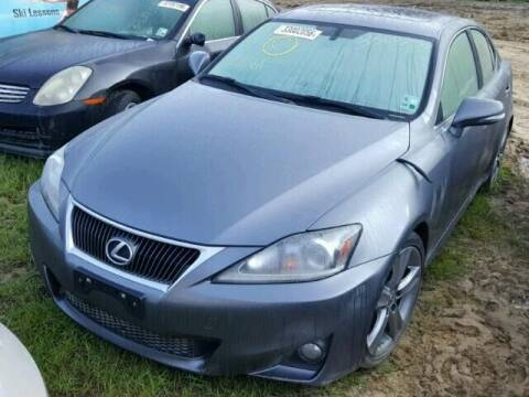2013 Lexus IS 250 for sale at New City Auto - Parts in South El Monte CA