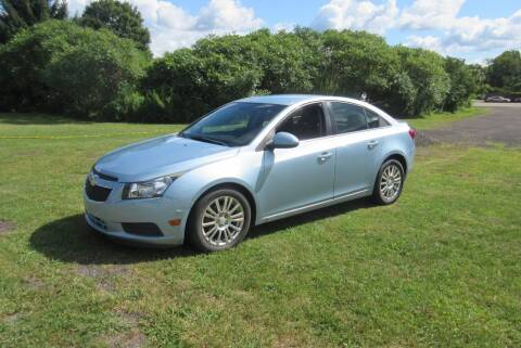 2012 Chevrolet Cruze for sale at Clearwater Motor Car in Jamestown NY