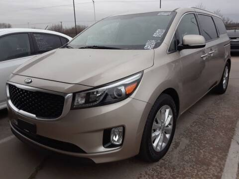 2015 Kia Sedona for sale at Auto Haus Imports in Grand Prairie TX