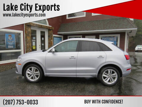 2016 Audi Q3 for sale at Lake City Exports in Auburn ME