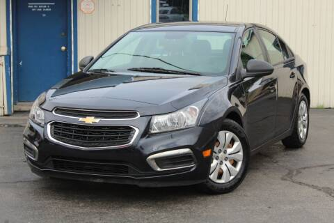 2015 Chevrolet Cruze for sale at Dynamics Auto Sale in Highland IN