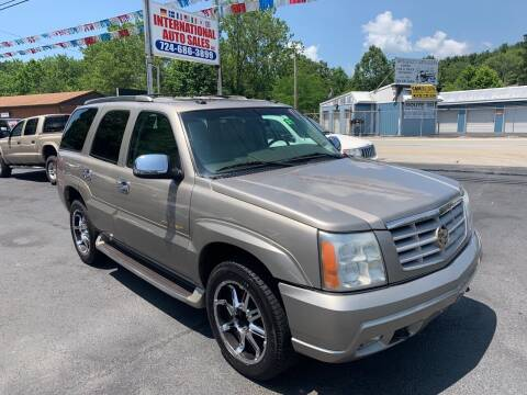 2003 Cadillac Escalade for sale at INTERNATIONAL AUTO SALES LLC in Latrobe PA