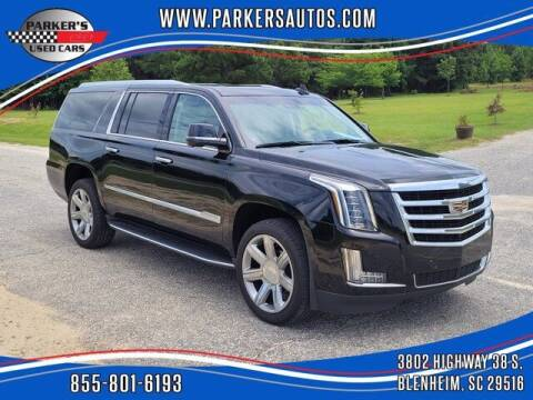 2020 Cadillac Escalade ESV for sale at Parker's Used Cars in Blenheim SC