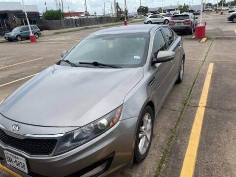 2013 Kia Optima for sale at FREDY USED CAR SALES in Houston TX