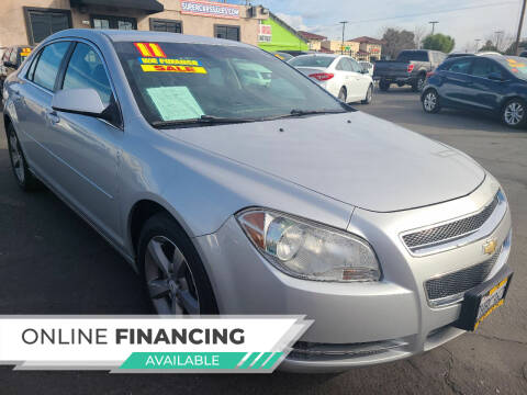 2011 Chevrolet Malibu for sale at Super Cars Sales Inc #1 - Super Auto Sales Inc #2 in Modesto CA