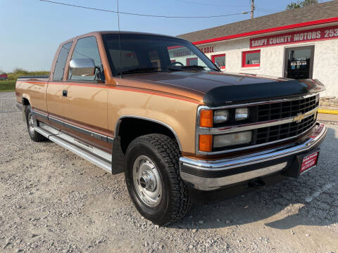 1989 Chevrolet C/K 1500 Series for sale at Sarpy County Motors in Springfield NE
