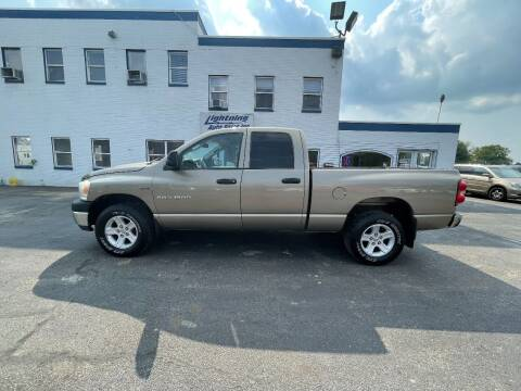 2007 Dodge Ram Pickup 1500 for sale at Lightning Auto Sales in Springfield IL