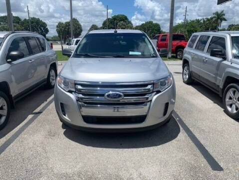 2014 Ford Edge for sale at DAN'S DEALS ON WHEELS AUTO SALES, INC. in Davie FL