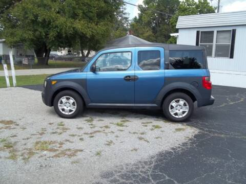 2006 Honda Element for sale at R V Used Cars LLC in Georgetown OH