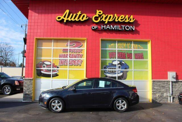 2014 Chevrolet Cruze for sale at AUTO EXPRESS OF HAMILTON LLC in Hamilton OH