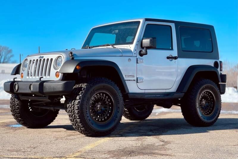 2010 Jeep Wrangler for sale at Island Auto Off-Road & Sport in Grand Island NE