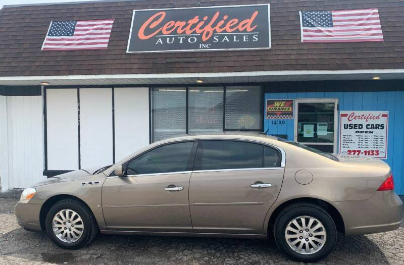 2007 Buick Lucerne for sale at Certified Auto Sales, Inc in Lorain OH