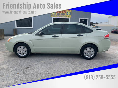 2010 Ford Focus for sale at Friendship Auto Sales in Broken Arrow OK