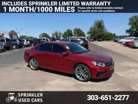 2018 Volkswagen Passat for sale at Sprinkler Used Cars in Longmont CO