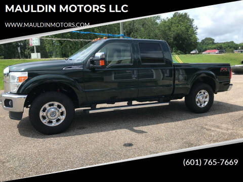2016 Ford F-250 Super Duty for sale at MAULDIN MOTORS LLC in Sumrall MS