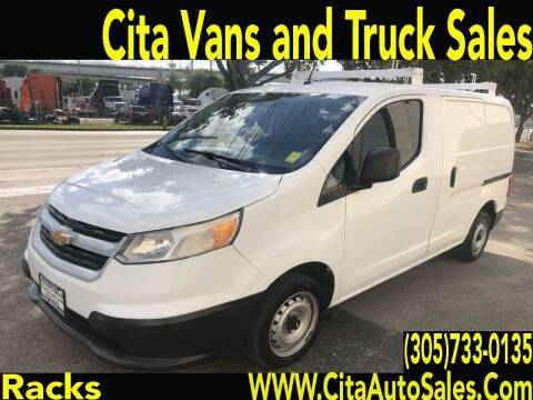 2015 Chevrolet City Express Cargo for sale at Cita Auto Sales in Medley FL