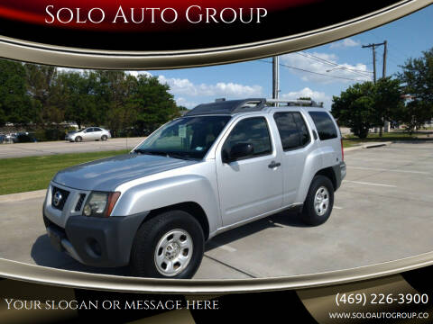 2010 Nissan Xterra for sale at Solo Auto Group in Mckinney TX