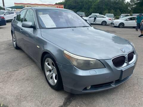 2006 BMW 5 Series for sale at Atlantic Auto Sales in Garner NC