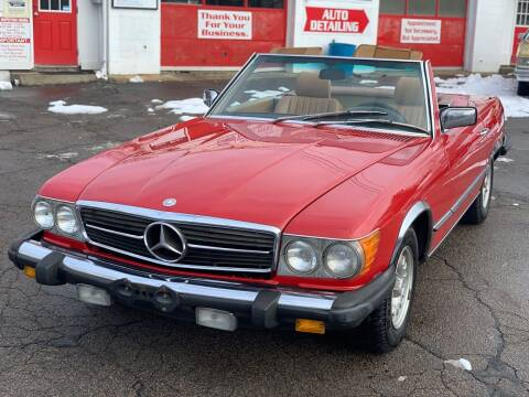 1985 Mercedes-Benz 380-Class for sale at Milford Automall Sales and Service in Bellingham MA