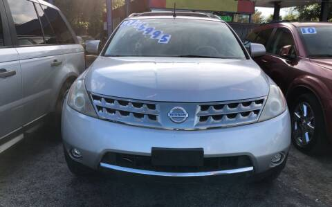 2007 Nissan Murano for sale at Louie's Auto Sales in Leesburg FL
