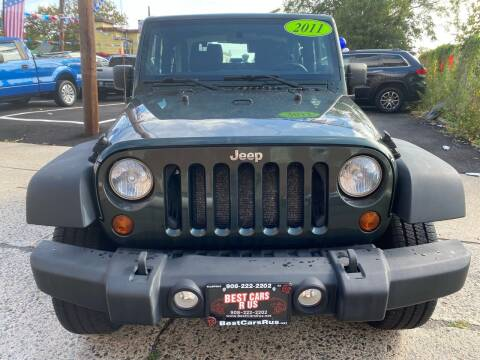 2011 Jeep Wrangler for sale at Best Cars R Us in Plainfield NJ