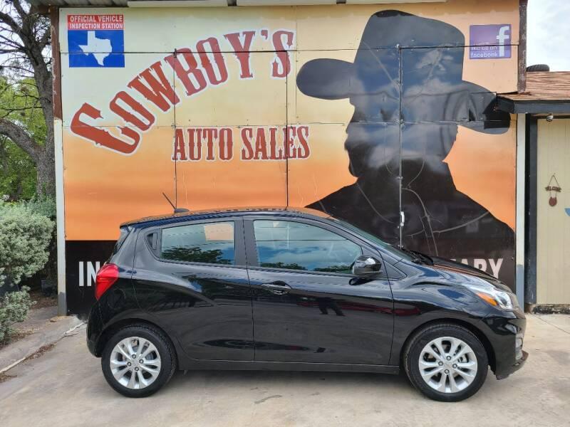 2020 Chevrolet Spark for sale at Cowboy's Auto Sales in San Antonio TX