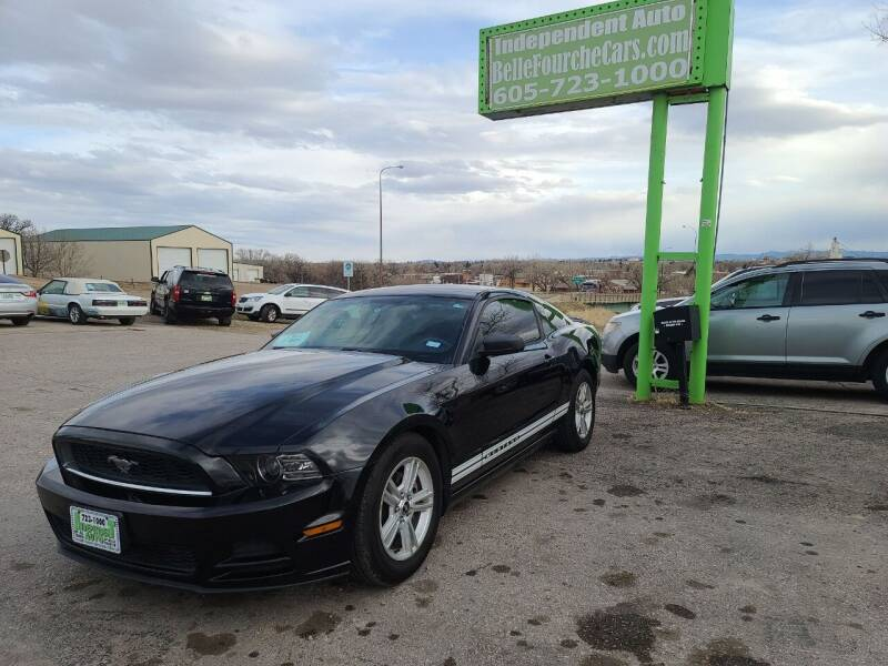 2013 Ford Mustang for sale at Independent Auto in Belle Fourche SD