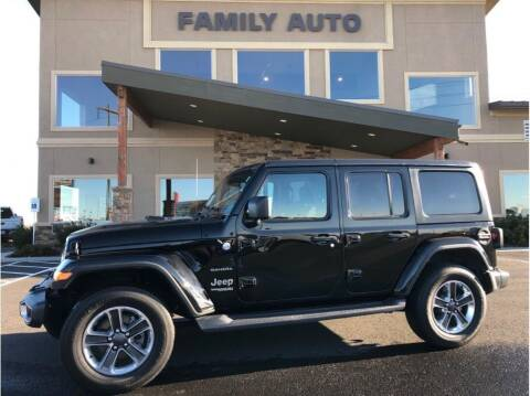 2018 Jeep Wrangler Unlimited for sale at Moses Lake Family Auto Center in Moses Lake WA