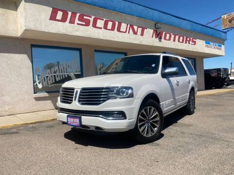 2015 Lincoln Navigator for sale at Discount Motors in Pueblo CO