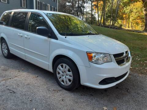 2015 Dodge Grand Caravan for sale at Cappy's Automotive in Whitinsville MA