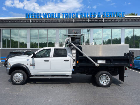 2014 RAM Ram Chassis 5500 for sale at Diesel World Truck Sales in Plaistow NH