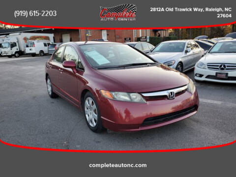 2008 Honda Civic for sale at Complete Auto Center , Inc in Raleigh NC