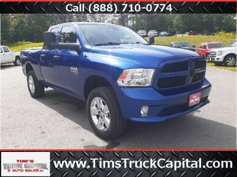 2019 RAM Ram Pickup 1500 Classic for sale at TTC AUTO OUTLET/TIM'S TRUCK CAPITAL & AUTO SALES INC ANNEX in Epsom NH