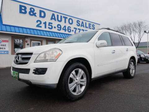 2007 Mercedes-Benz GL-Class for sale at B & D Auto Sales Inc. in Fairless Hills PA