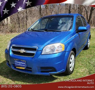 2010 Chevrolet Aveo for sale at Chicagoland Internet Auto - 410 N Vine St New Lenox IL, 60451 in New Lenox IL