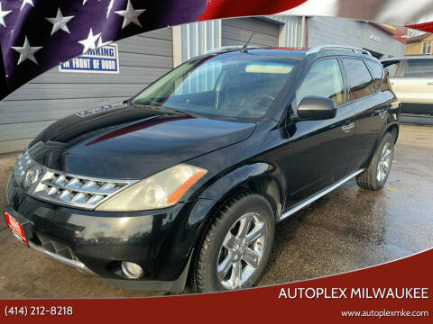 2006 Nissan Murano for sale at Autoplex Milwaukee in Milwaukee WI